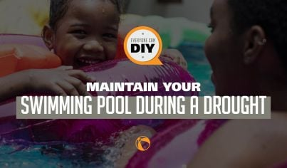 How to maintain your swimming pool during a drought - Follow these easy tips