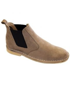 Boot Chelsea Safari Mens Taupe Size 12 Bata