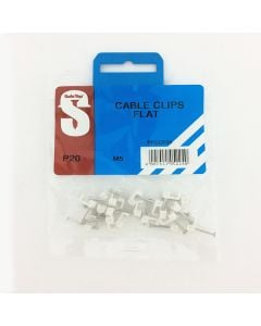 Cable Clip Flat  5.0mm ( 20) Safetop PPCCF05