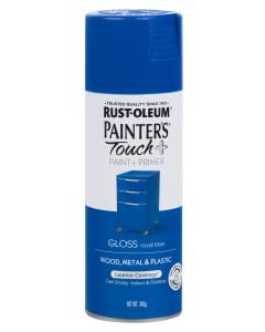 Spray Paint   Painters Touch + Gloss Royal Blue 340g Rust-Oleum
