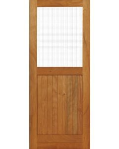 Door Frame Fly Screen And Battened 813x2032 PD73
