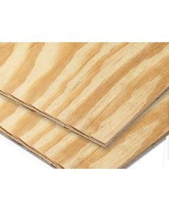 2440 x 1220 x   4.0 mm Plywood Pine Exterior  Bc