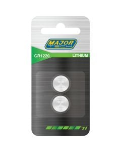 Batteries 3V.12.5mm x 2mm (H)CR1220 CR2016-BP2
